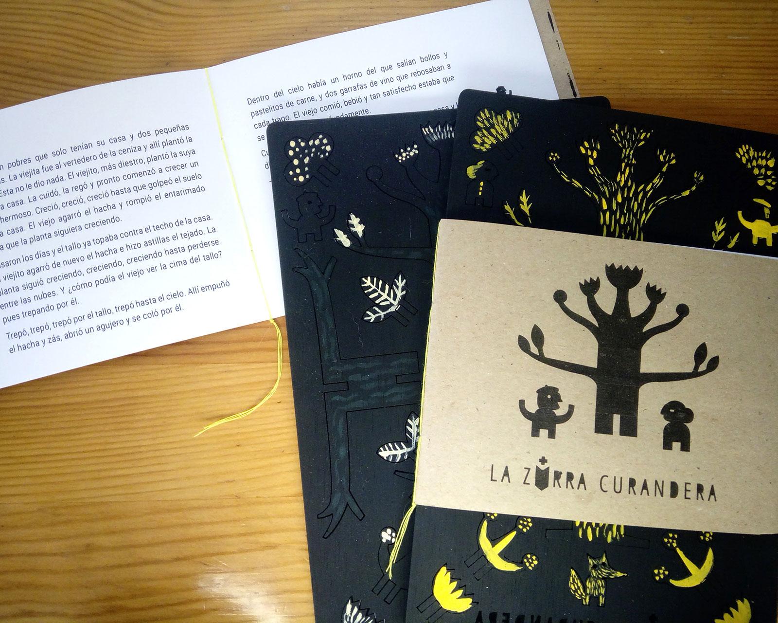 Ilustración cuento popular Alejandra Fernández