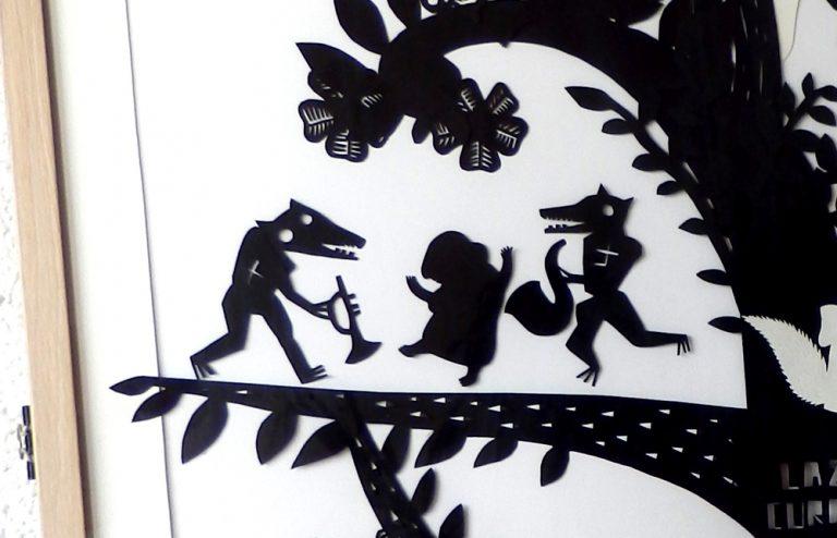 Retablo, retablo, kavaad, árbol