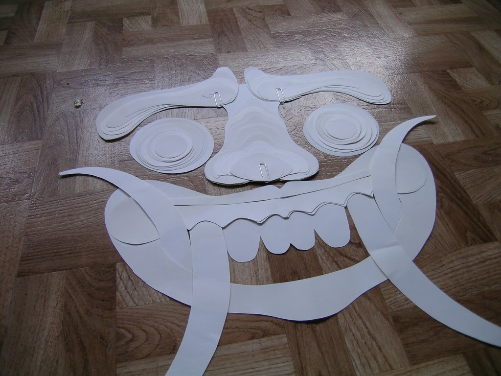 Estudio sobre la máscara