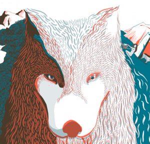 Ilustración de vinilo Alejandra Fernández