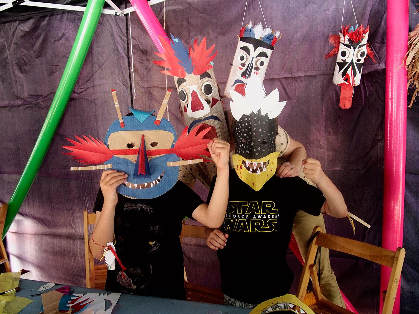 Taller máscaras malakids