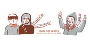 Ilustración Antártida Exploradores
