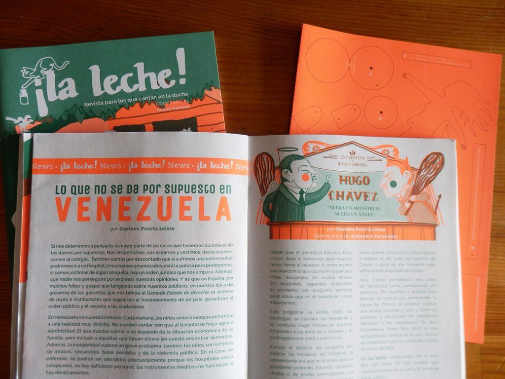 Venezuela Ilustración periodismo