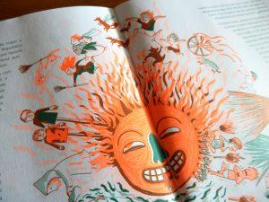 Ilustración sol rituales